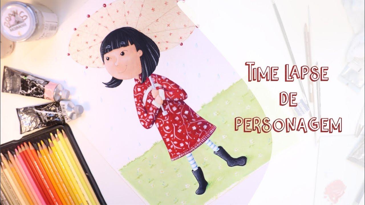 Personagem para livro infantil