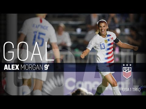 WNT vs. Trinidad & Tobago: Alex Morgan First Goal - Oct. 10, 2018
