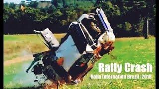 COMPILATION RALLY CRASH, BRAZIL 2018  Los Mejor Accidentes e derrapes Rally [PURE SOUND]
