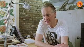 Jaap Scholten geeft een lezing in de Dieptetuin