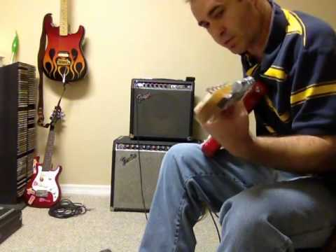 fender concert ii and red knob champ 12 sound demo