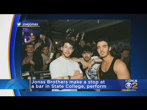 The Jonas Brothers Surprise Patrons At State College Bar