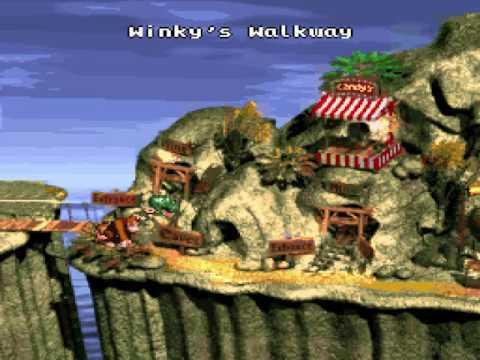 Donkey Kong Country Minimal Y Press TAS