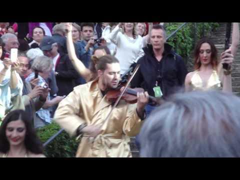 David Garrett - Eye of the tiger @Waldbühne Berlin (5.6.'13)