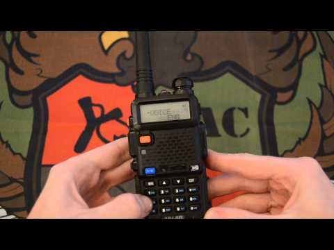 Baofeng UV-5R - Voz de la radio