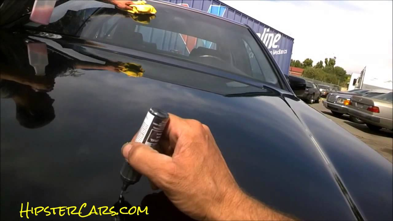 Using Car Touch Up Paint