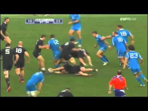 All Blacks v Italy 2012 Full Highlights