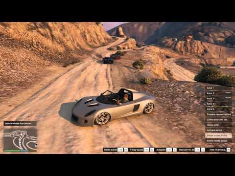 Scene Director 1.2 mod for GTA V Rockstar Editor/Director Mode