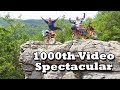 BleepinJeep Every Day gets SKETCHY on Coleman Mini Bikes - 1000th Video Spectacular!