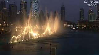 DUBAI FOUNTAIN SHOW  -DUBAI MALL