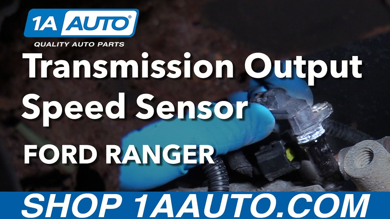 small resolution of how to install replace output speed sensor automatic transmission 1997 11 ford ranger youtube