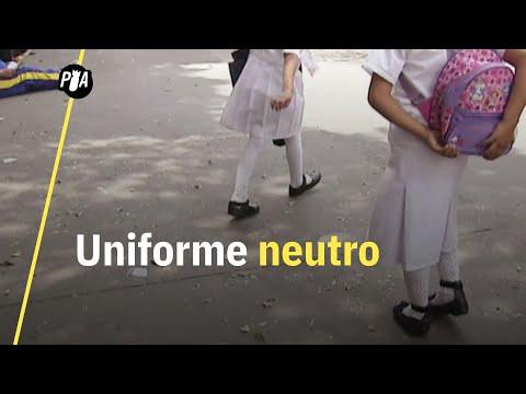 """¿El uniforme neutro en escuelas es """"ideología de género""""?"""