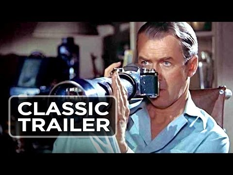 Rear Window Official Trailer #1 - James Stewart, Grace Kelly Movie (1954) HD