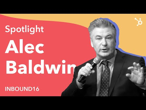 INBOUND 2016: Alec Baldwin Keynote