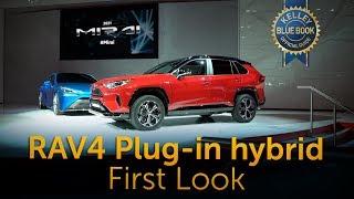 2021 Toyota RAV4 Plug-in Hybrid - First Look