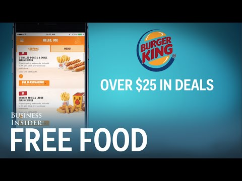 APPS THAT GIVE YOU FREE FOOD
