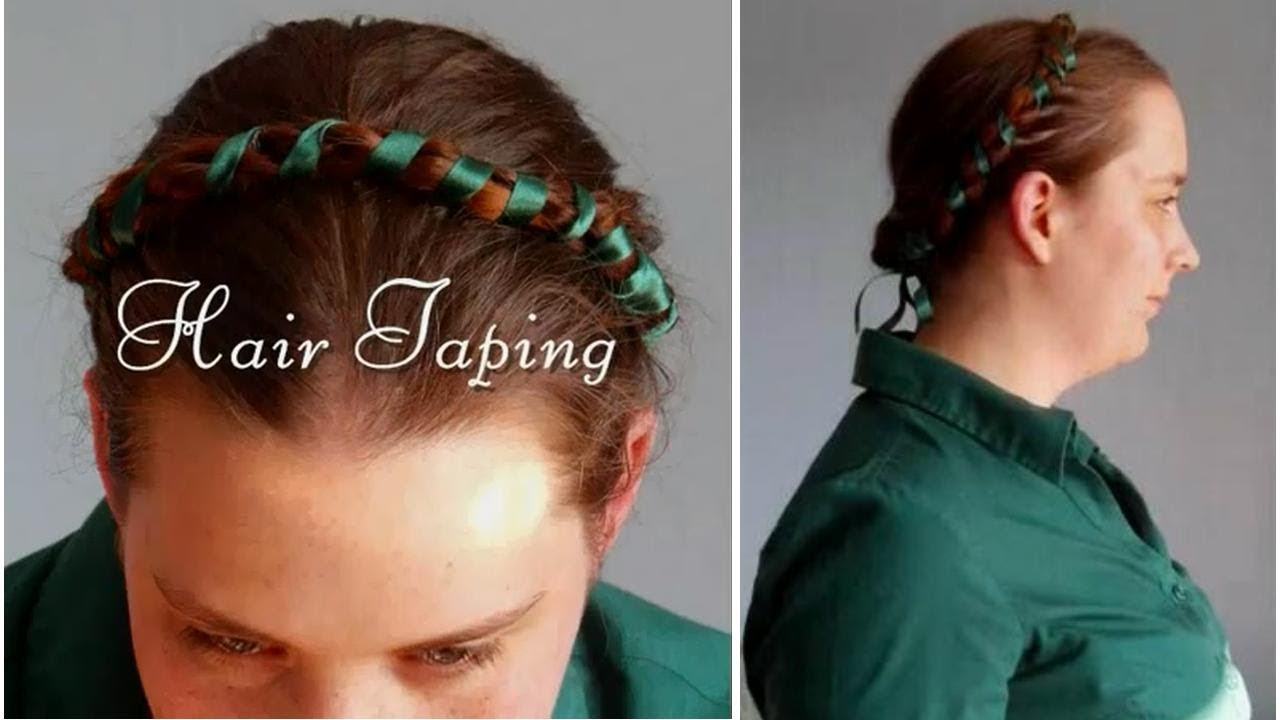 Tutorial Hair Taping Medieval Tudor Elizabethan Renaissance