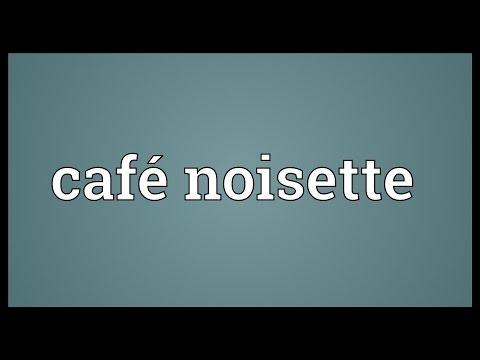 Café noisette Meaning