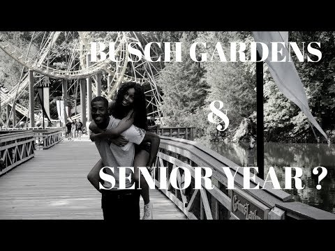 THE TRUE LIFE OF AYANNA ALEXIS: BUSCH GARDENS & FIRST DAY OF SENIOR YEAR!!!!!!!!