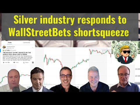 Silver industry responds to WallStreetBets silverqueeze: David Morgan, Alasdair Macleod, and more!