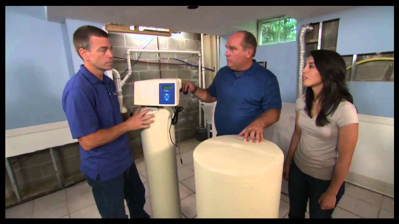 Home Water Conditioner Ask This Old House Culligan Water Softener Installation Youtube