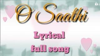 O saathi lyrical full song | baaghi 2 | allah mujhe dard ke kaabil bana diya song lyrics | Atifaslam