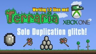 Xbox One Terraria Solo Duplication Glitch [Single Player 2 Controllers]