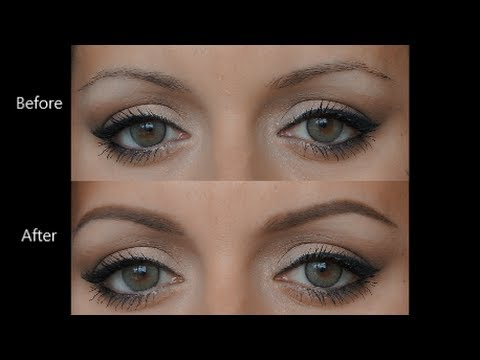 5 Minutes to Perfect Eyebrows - how I fill in and shape my ...