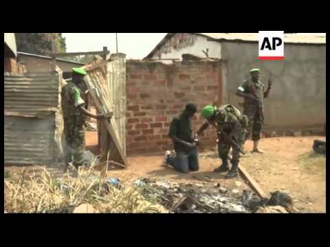Central African Republic - Central African Republic's presid