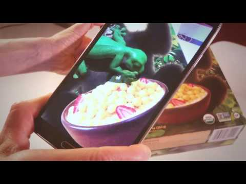 Augmented Reality - Gecko loves Gorilla Munch