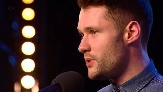 Calum Scott hits the right note   Britain's Got Talent 2015   Audition Week 1 HGT 2015