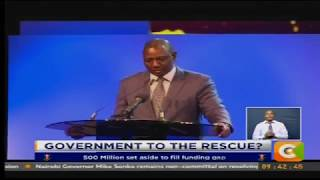 Ruto pledges government support for