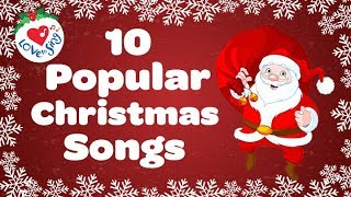 Top 10 Popular Christmas Songs and Carols Playlist 🎅