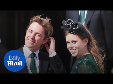 U.K.'s Princess Beatrice married in small wedding ceremony amid ...