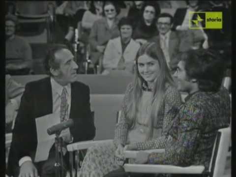 Arnoldo Foà intervista Albano Carrisi e Romina Power (1974)