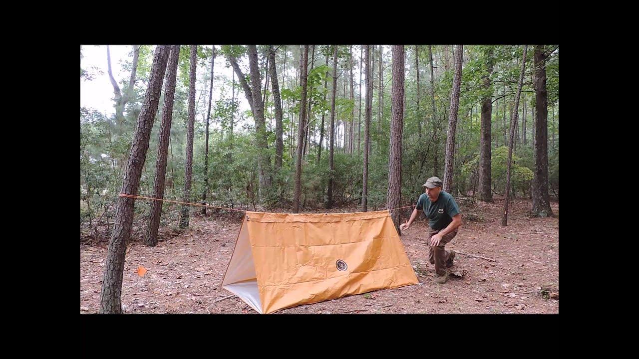 shelter review ust base tube tarp   youtube  rh   youtube
