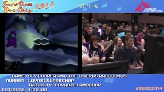 Summer Games Done Quick 2014 - Part 43 - Sly Cooper And The Thievus Raccoonus