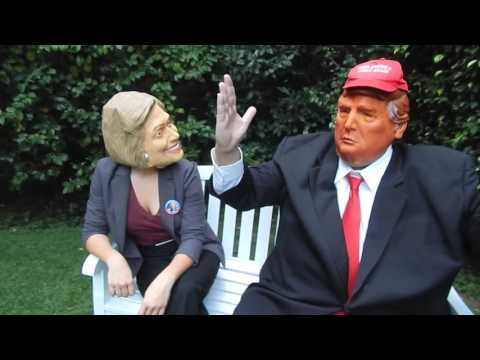 Trump and Clinton Final Debate