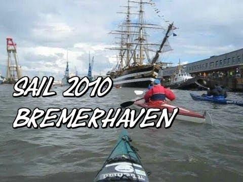 SAIL Bremerhaven 2010 Kajak-Seehafentörn