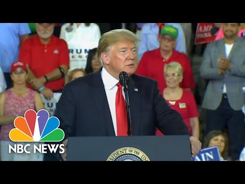 President Donald Trump Accuses Hillary Clinton Campaign Of Russian Collusion | NBC News