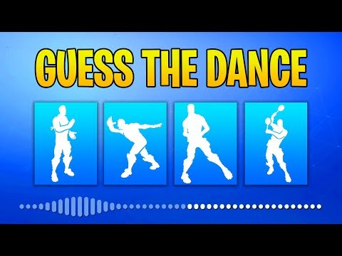 Guess The Fortnite Dance Name By The Sound - Music #3 - Fortnite Challenge