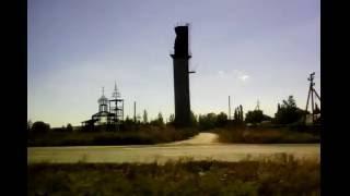 Когда мы были на войне казачья песня по дороге из Горловки сгоревший храм
