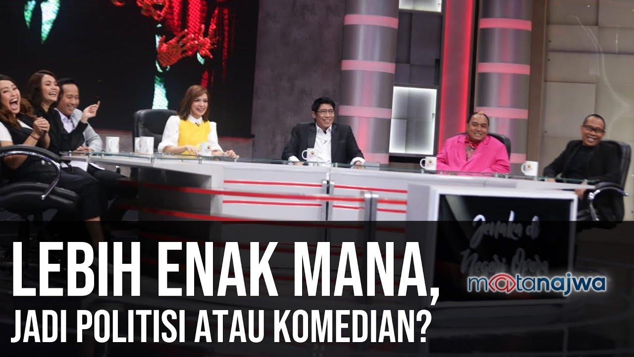 Download Jenaka di Negeri Opera: Lebih Enak Mana, Jadi Politisi atau Komedian? (Part 6) | Mata Najwa