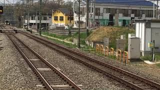 西武30000系30104F急行池袋行き秋津駅通過