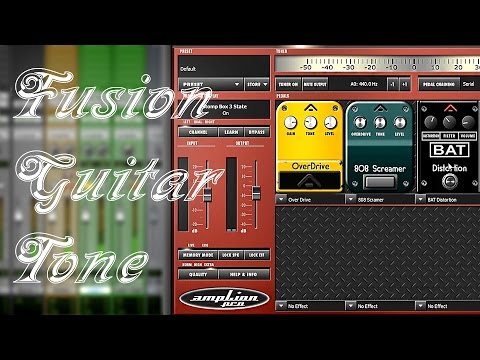 Guitar tone with Audified AmpLion