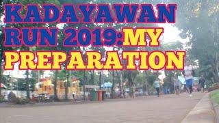 Kadayawan run preparation| jogging is ...