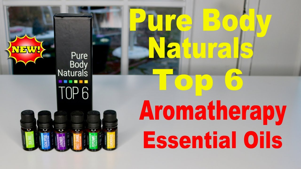 😍 PURE BODAY NATURALS ❤️ Top 6 Essential Oils - Review ✅