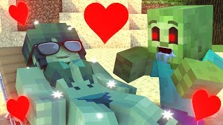 Top 3 - Best Love Story | The Minecraft Life of Zomma & Zombo - ZomBo Minecraft Animation