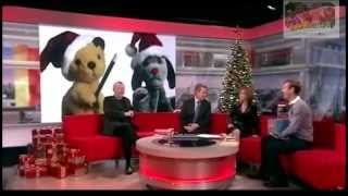 Sooty and Sweep with Richard Cadell and Matthew Corbett on Breakfast TV 2011