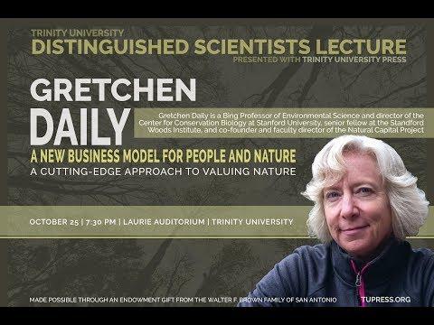 Distinguished Scientist Lecture Series: Gretchen C. Daily